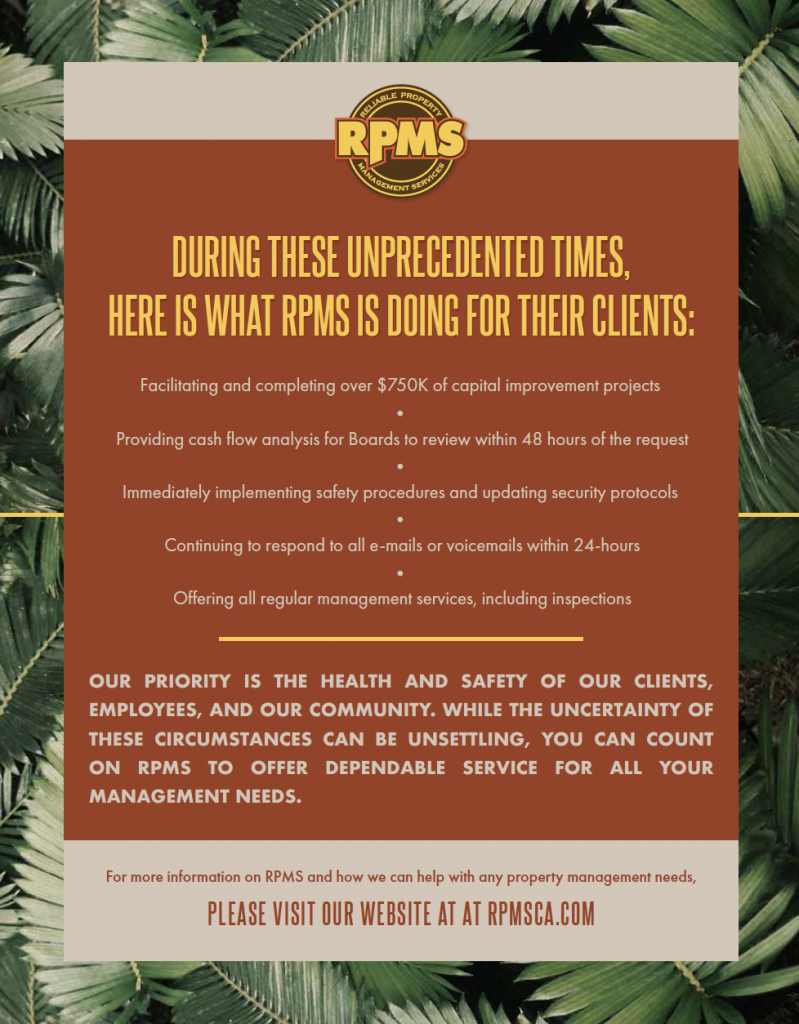 RPMS COVID-19 Update